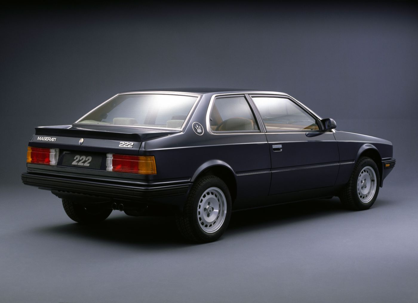 1989 Maserati 222 - Biturbo - the classic 2-door rear view