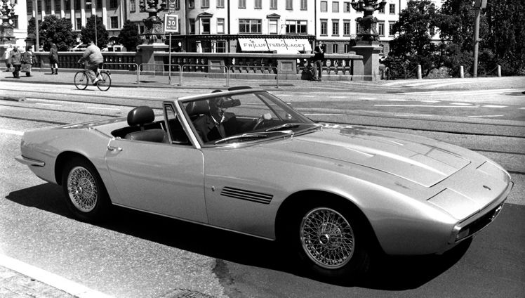 1967 Maserati Ghibli Spyder - the classic two-seater