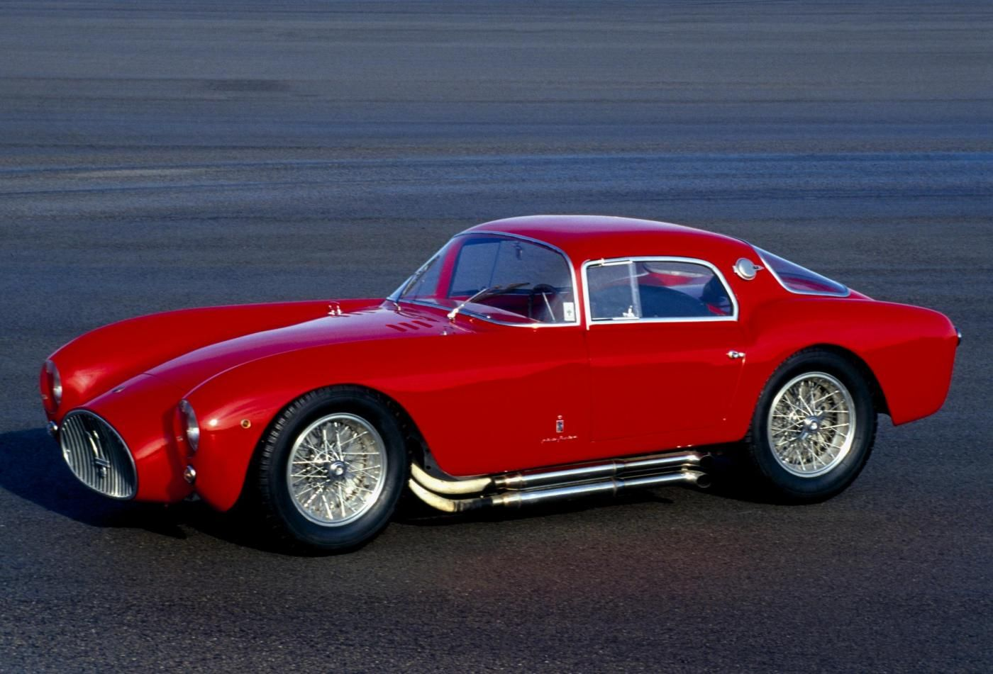 1953 Maserati 2000 Sport - A6GCS Berlinetta - exterior view of the classic 2-seater